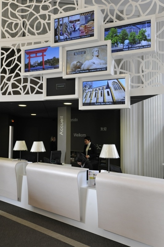 Le comptoir d'accueil © Philippe Gisselbrecht / Office de Tourisme de Metz