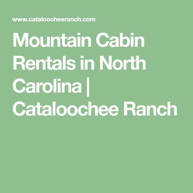 Mountain Cabin Rentals in North Carolina | Cataloochee Ranch