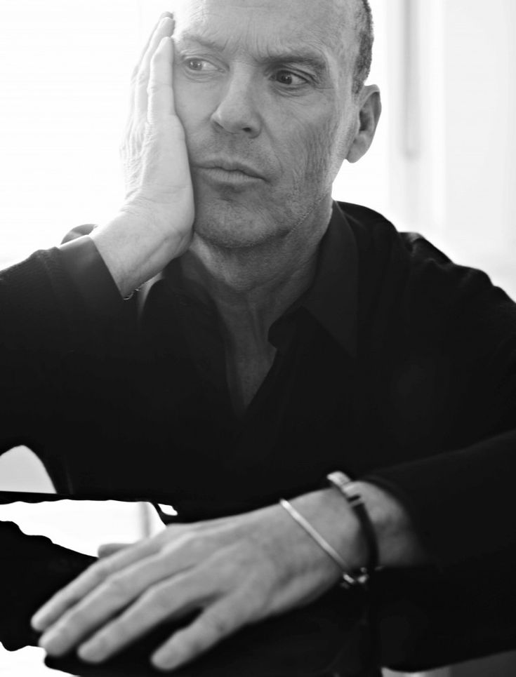 Michael Keaton (by Nigel Parry)