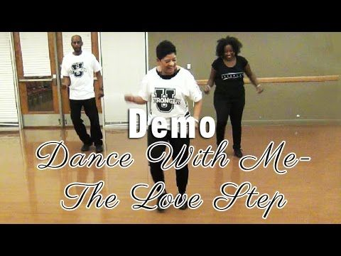 """Tanks Dance with Me, aka """"The Love Step"""" Line Dance Extended Version.  You need to hear this feel good song and see this excellent dance created by The Line Dance Queen and RnB artist Tank!"""