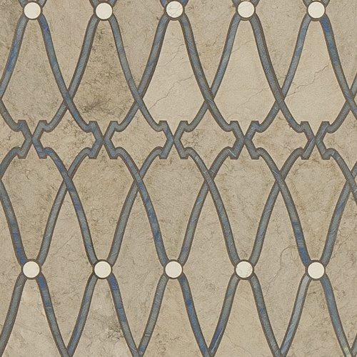 Artistic Tile | Knossos Water Jet Mosaic | Tailored To Collection