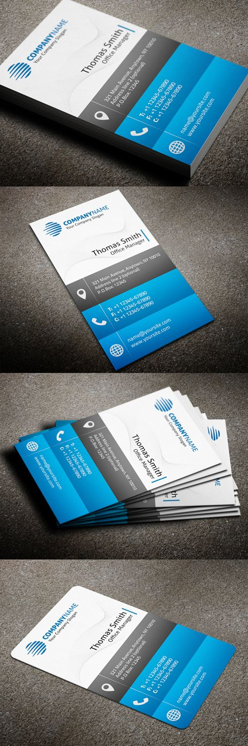 43 best Business Card Templates images on Pinterest | Business card ...