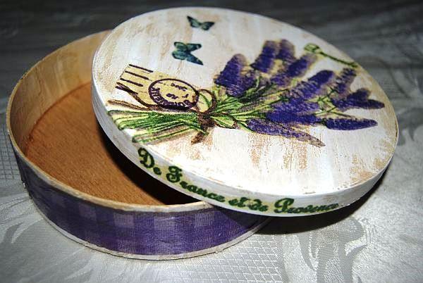 Декупаж деревянной шкатулки в стиле шебби шик