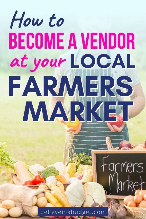 How To Make Money At A Farmers Market