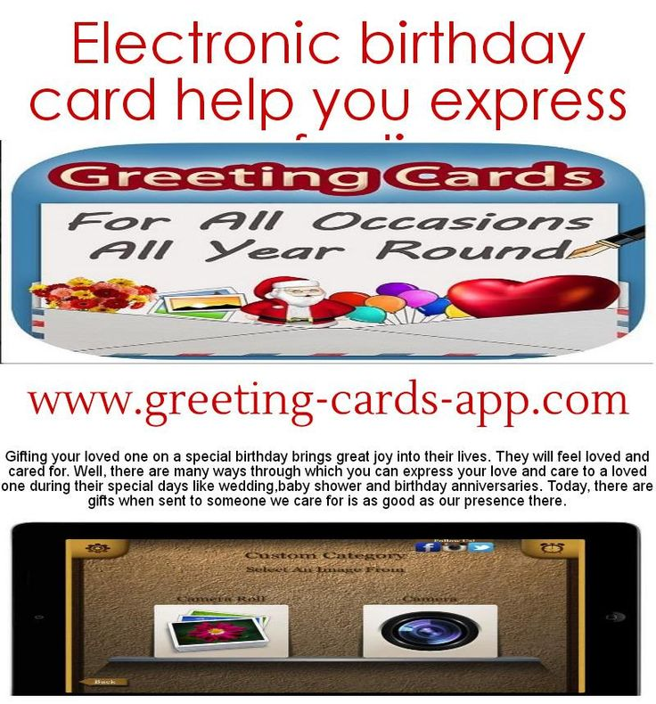 17 Best images about Best Greeting Card Apps – Ipad Birthday Card
