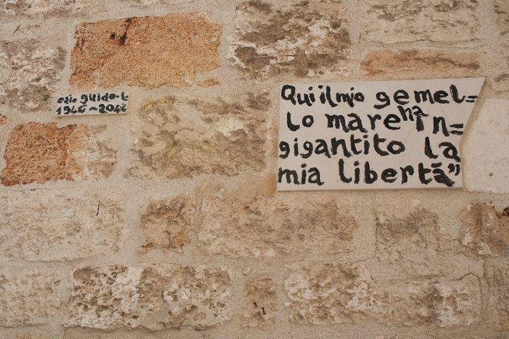 """Here my twin sea magnified my freedom""  Polignano a mare - Puglia  #Travel #Italy"