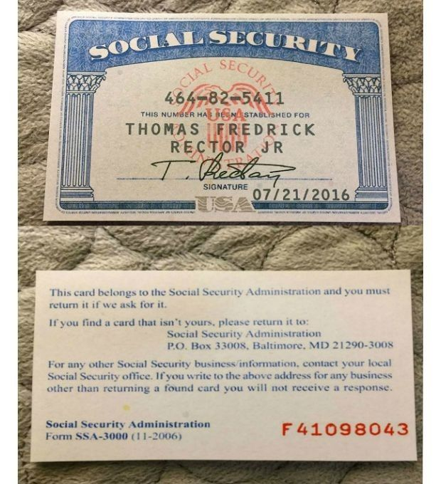 Pin On Social Security Cards