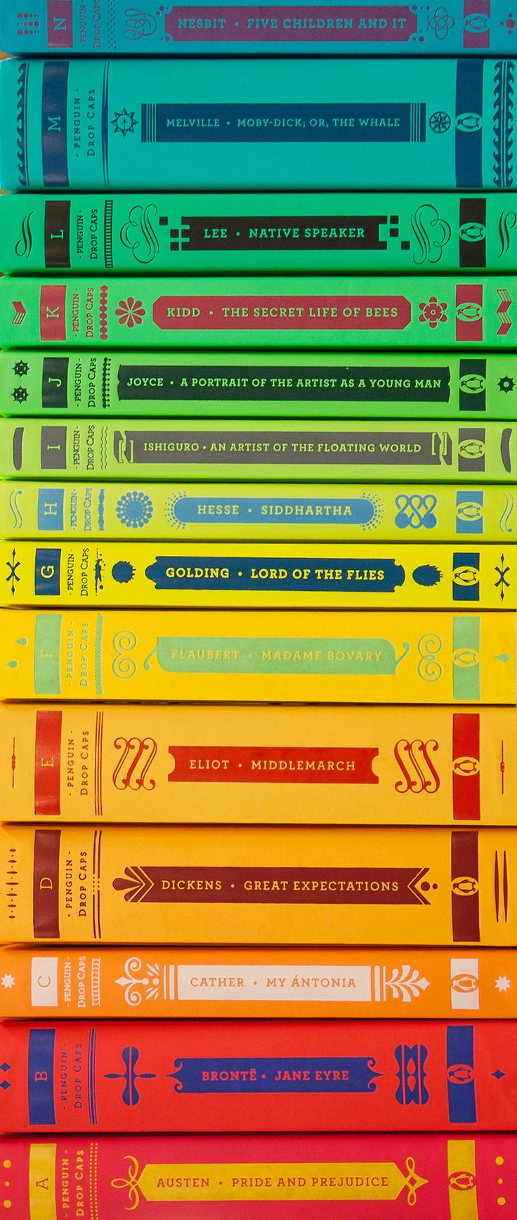 Penguin Drop Cap Editions Of The Classics, Now 30% Off At Powell's