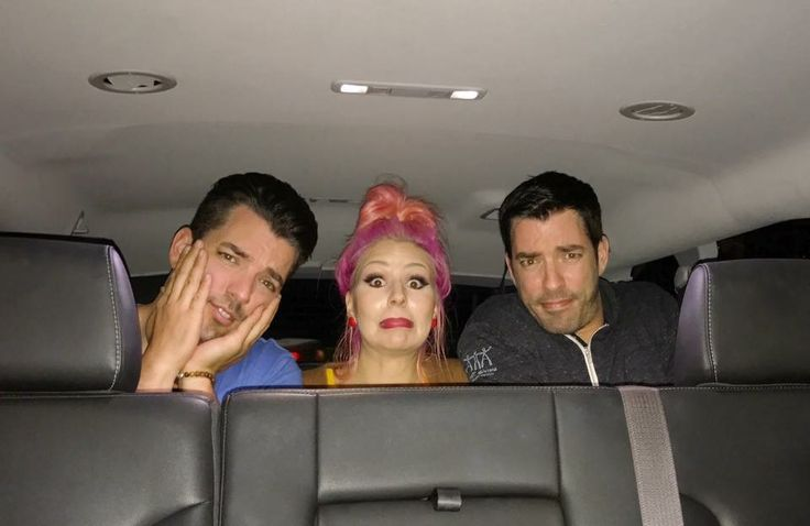 JD Scott's favorite family members. Middle brother Jonathan Silver Scott, JD's girlfriend Annalee Belle & youngest brother Drew Scott. January 2017