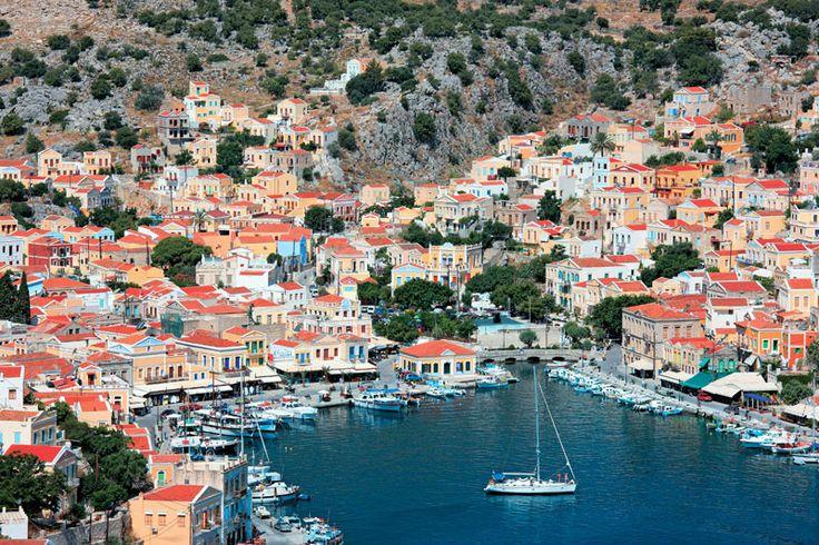 Picturesque port of Symi island  www.callgreece.gr