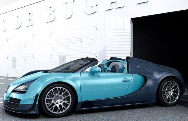 bugatti reveals new veyron paint job with first of six legendary special editions cars boats. Black Bedroom Furniture Sets. Home Design Ideas