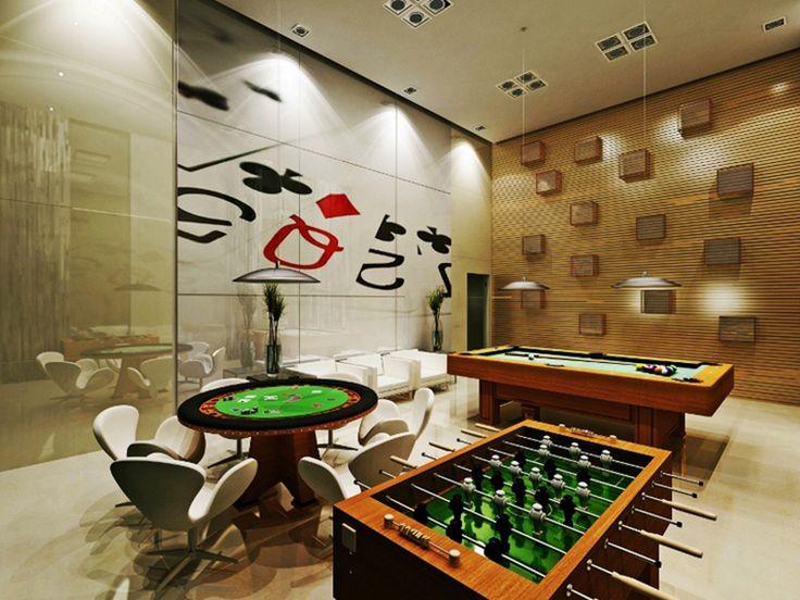 Decorando salas de jogos de maneira criativa