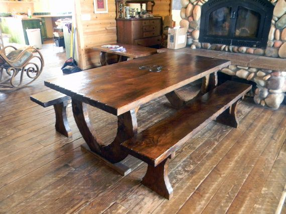 17 Best images about log furniture on Pinterest Dining  : 97286e75b05c57a92c3c79774755ddfe from www.pinterest.com size 570 x 427 jpeg 53kB