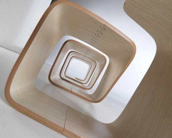 Toll Originelle Form Gartenbank Holz Minimalistisch | Wood | Pinterest | Dna