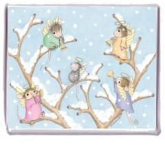 """""""Magnet - Angels Up High"""", Stock #: M-2010-12, from House-Mouse Designs®. This item was recently purchased off from our web site. Click on the image to see more information."""