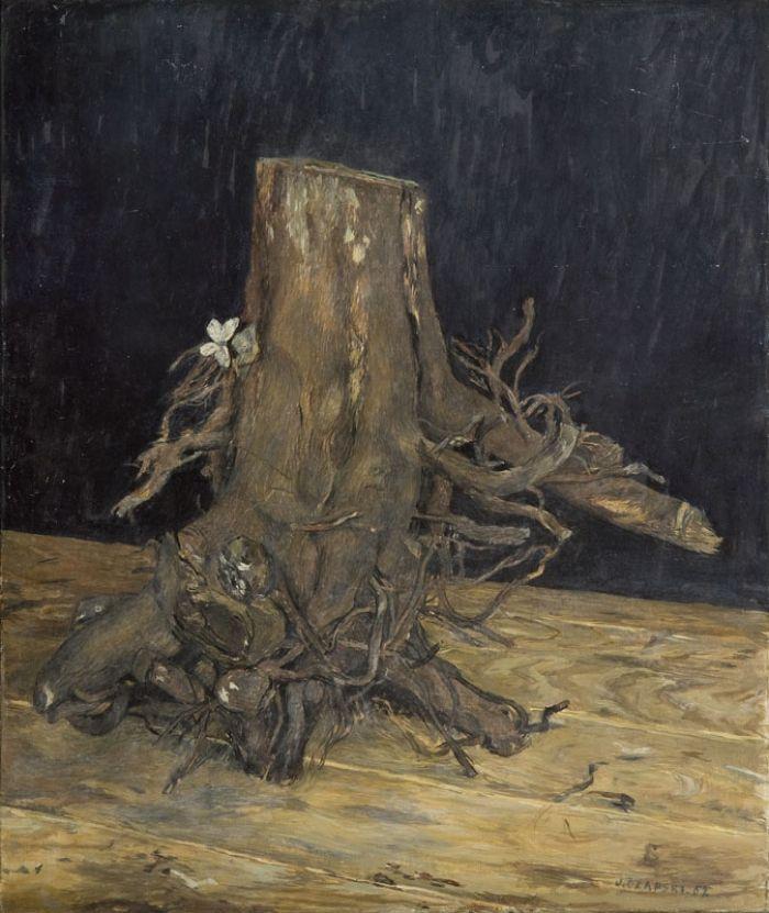 Józef Czapski - Pień, 1962 r.
