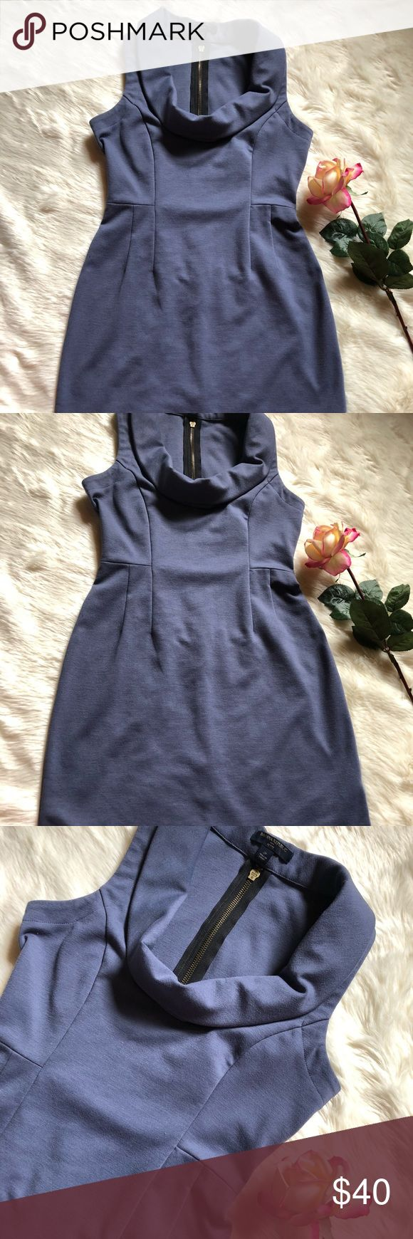 Banana Republic Petite Pencil Dress Light navy blue Stretchable material No flaws Smoke & pet free home 72% Polyester 23% Rayon 5% Spandex   Measurements Pit to pit: 16 inches Top to bottom: 32 1/2 inches Banana Republic Dresses