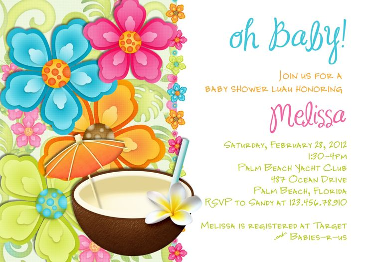 Best 25 Luau baby showers ideas on Pinterest Hawaiian baby