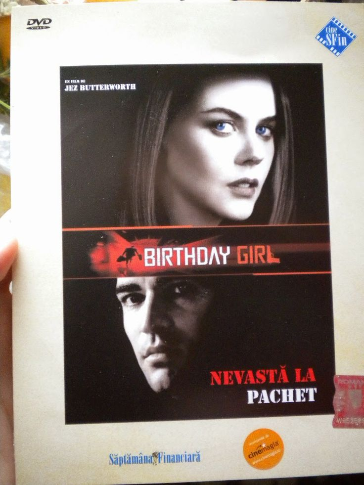 Little bookshop: DVD Birthday Girl