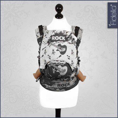 Fidella-Fusion-Tragehilfe-Rock-n-Rolla-stříbrná