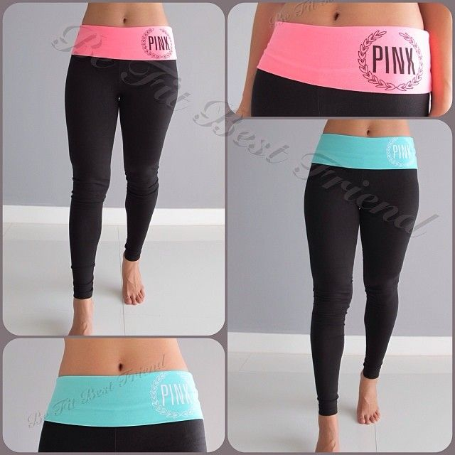 Victoria's Secret PINK Yoga Legging large or XL