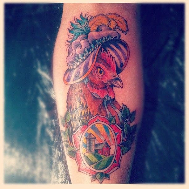 1000+ images about Dad tattoo on Pinterest | Baby chicks ... |Cute Chicken Tattoos