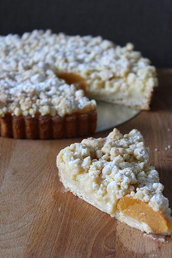 Abrikozen kruimelvlaai – HandmadeHelen