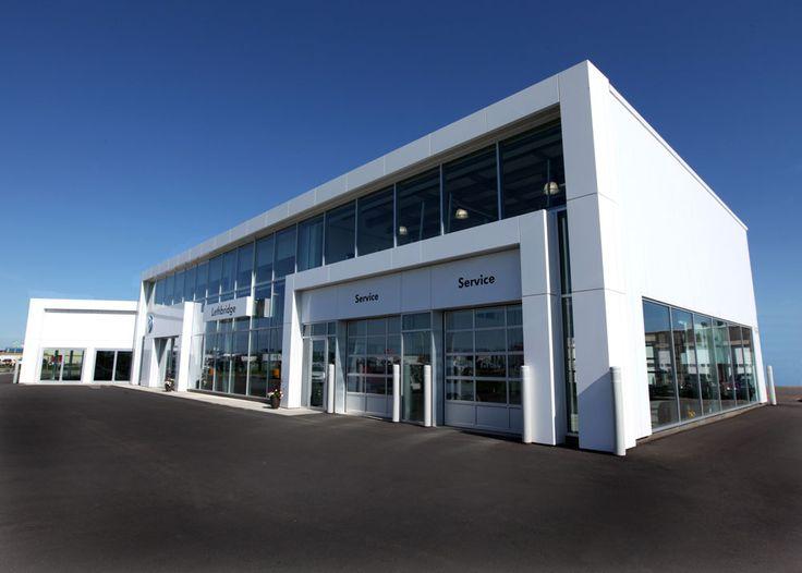 VW Dealership, Lethbridge, AB - BEHLEN Industries LP