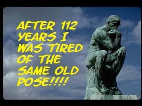 The Mandela Effect ( Rodin's The Thinker Is Totally Different In This Re...