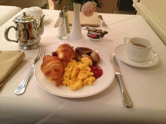 Grand Hotel Casselbergh Bruges: Breakfast