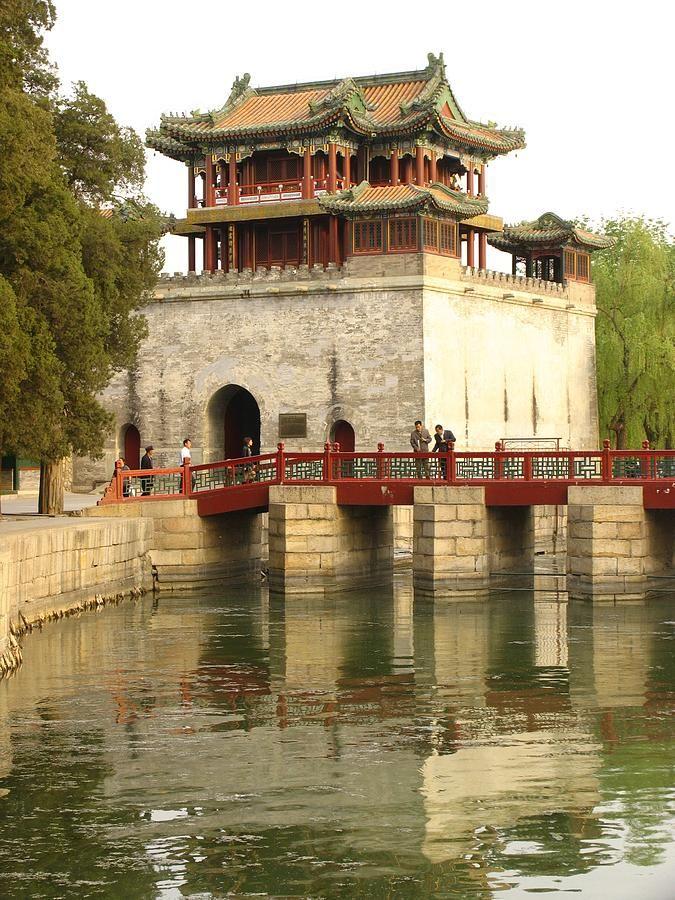 Walking walking walking around The Summer Palace - Beijing, China but oh so worth it