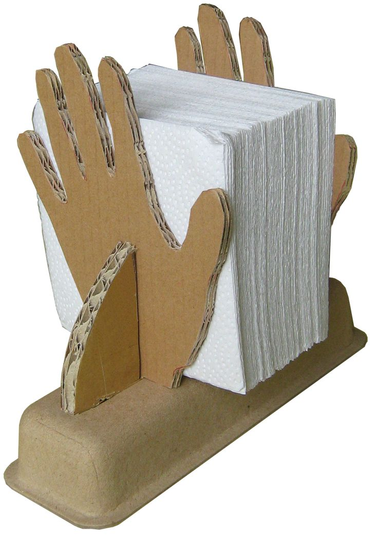 NAPKIN HOLDER     PROJECT DESCRIPTION   Material:  One box, flour glue, tape.   Complexity:  Easy in general.  Size  = 20x15x30 cm    Sof...