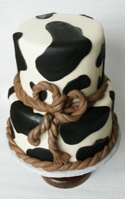Cowgirl Cake from CAKE DECORPrints Cake, Little Cowboy, Cows Prints, Cake Ideas, Cake Decor, Cowgirls Cake, Cowboy Cakes, Cows Cake, Birthday Cakes