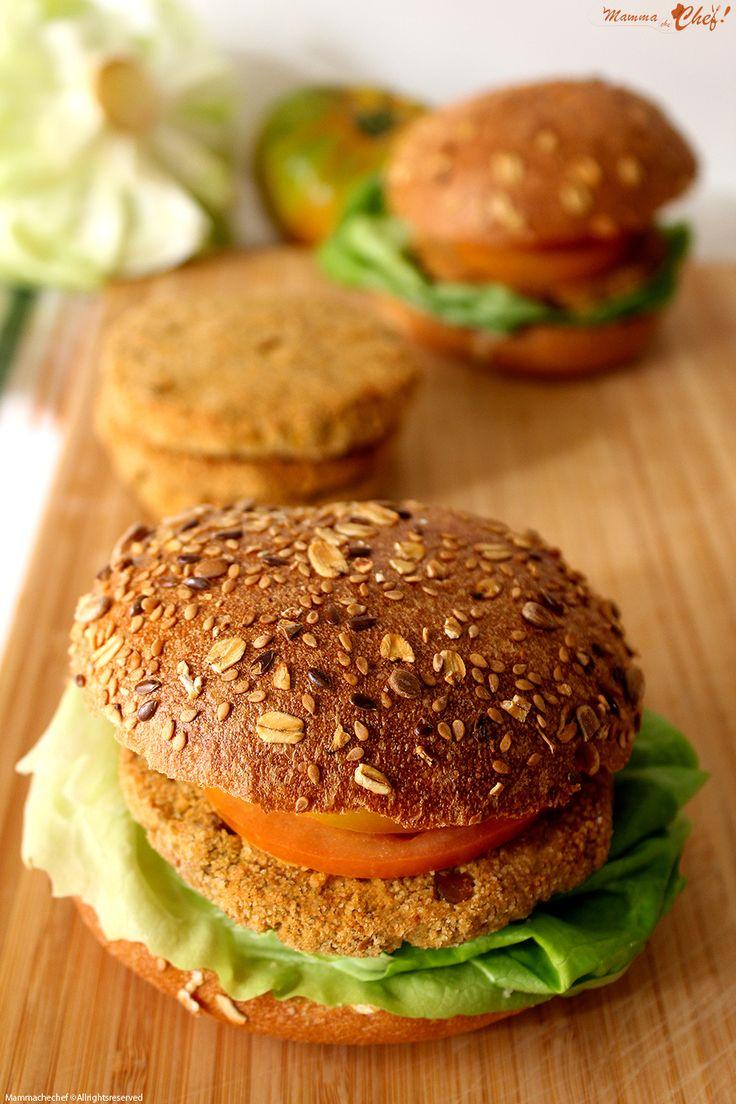 Burger di ceci e lenticchie