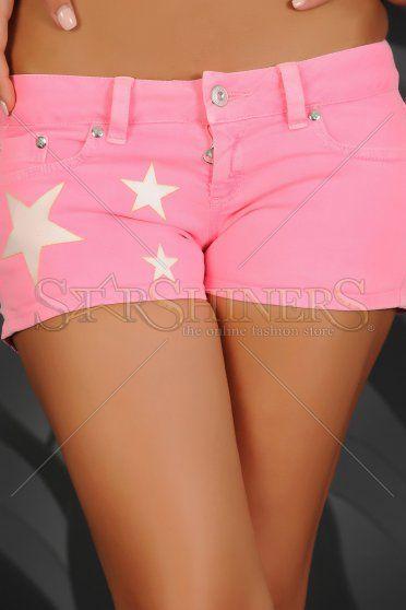 Pantaloni Scurti Mexton Stars Pink