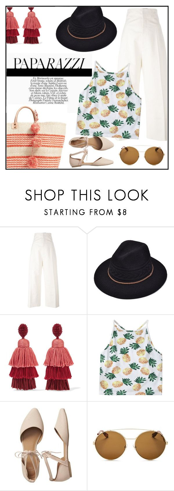 """Sunday Runway"" by bebebelabee on Polyvore featuring Jacquemus, Oscar de la Renta, Gap, Givenchy and Mar y Sol"