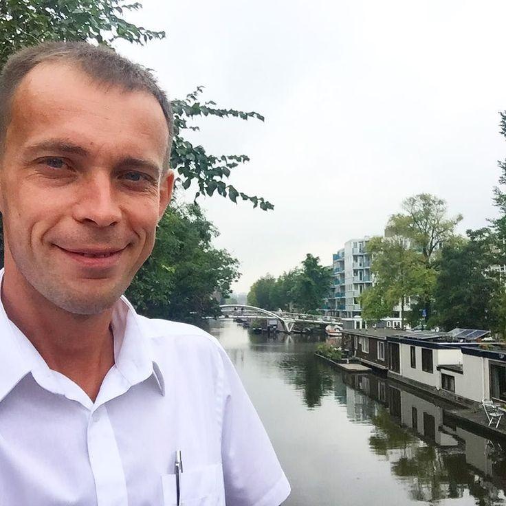 И снова мосты  и каналы  Правда теперь уже в Амстердаме  #этожизнь #осень #новаяжизнь #путешествие #сентябрь #2016 #travel #september #traveling #reisen #followme #photoart #амстердам #голландия #niederlande #holland #amsterdam