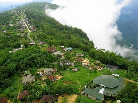Indian Tourist Places | Travel Destinations India: Cherrapunji, Meghalya