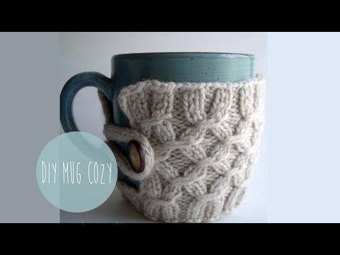 Грелка на чашку - отличный новогодний подарок | Вяжем с Лана Ви