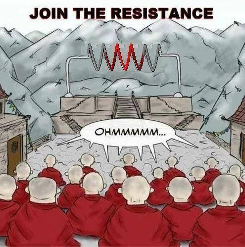 Resistance is Futile: What You Resist Persists