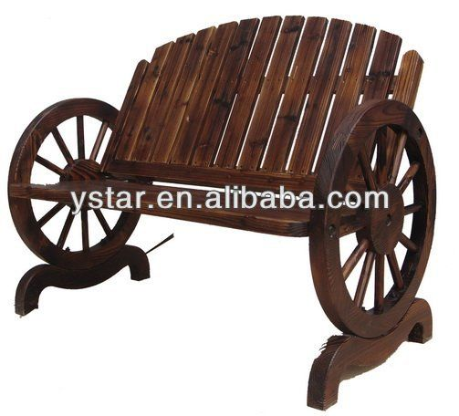 Charred Wooden Bench With Wheels For Outdoor And Gardens   Buy Wooden Bench  With Wheels,Antique Wooden Garden Bench,Bench With Table Product On  Alibaba.com
