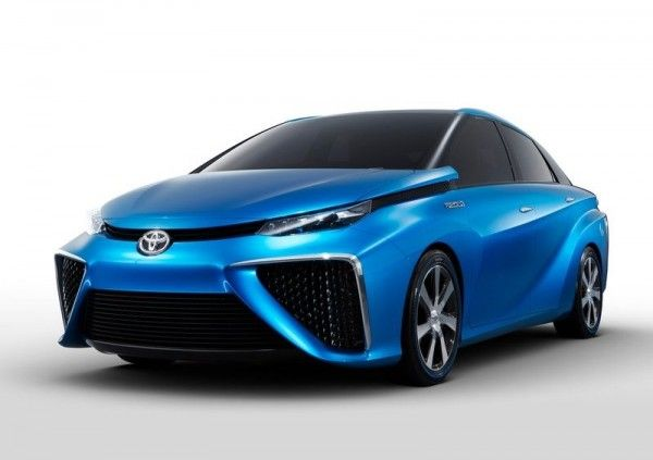 2013 Toyota FCV Release1 600x423 2013 Toyota FCV Reviews