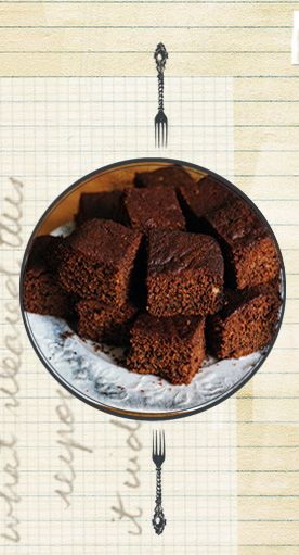 Fiery Yorkshire Parkin recipe, perfect for Bonfire Night. #bonfirefood