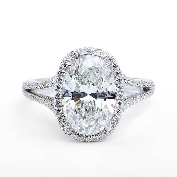 Oval Cut Engagement Rings | Wedding Engagement | Brides.com