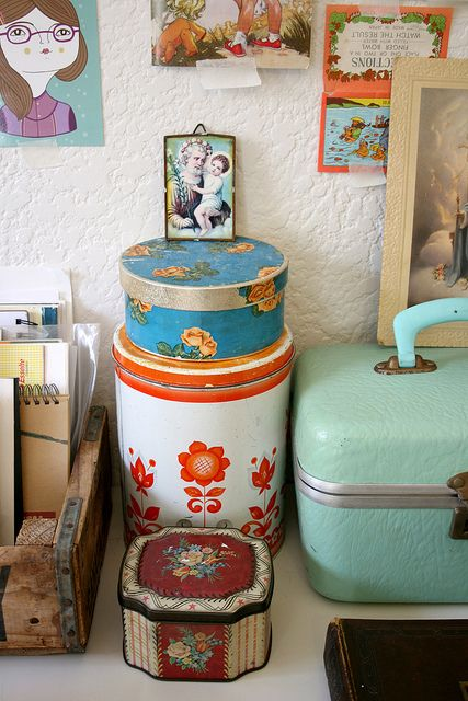 boîtes vintages