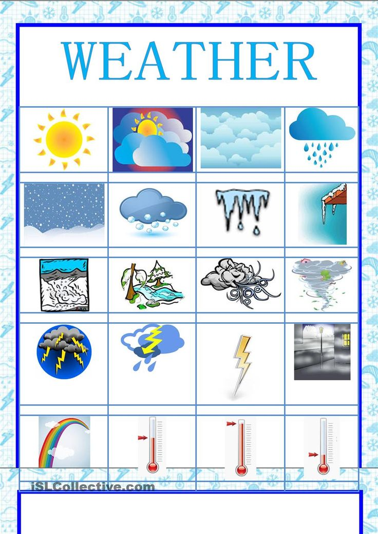 17 best weather images on pinterest printable worksheets english classroom and weather worksheets. Black Bedroom Furniture Sets. Home Design Ideas