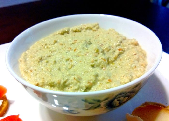 Portuguese Green Olive Dip Recipe — Dishmaps