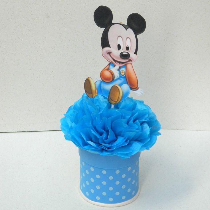 Centro de mesa Mickey baby