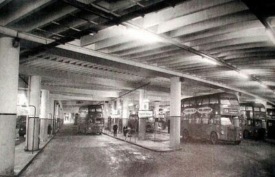 Edgbaston street midland red depot 1967.