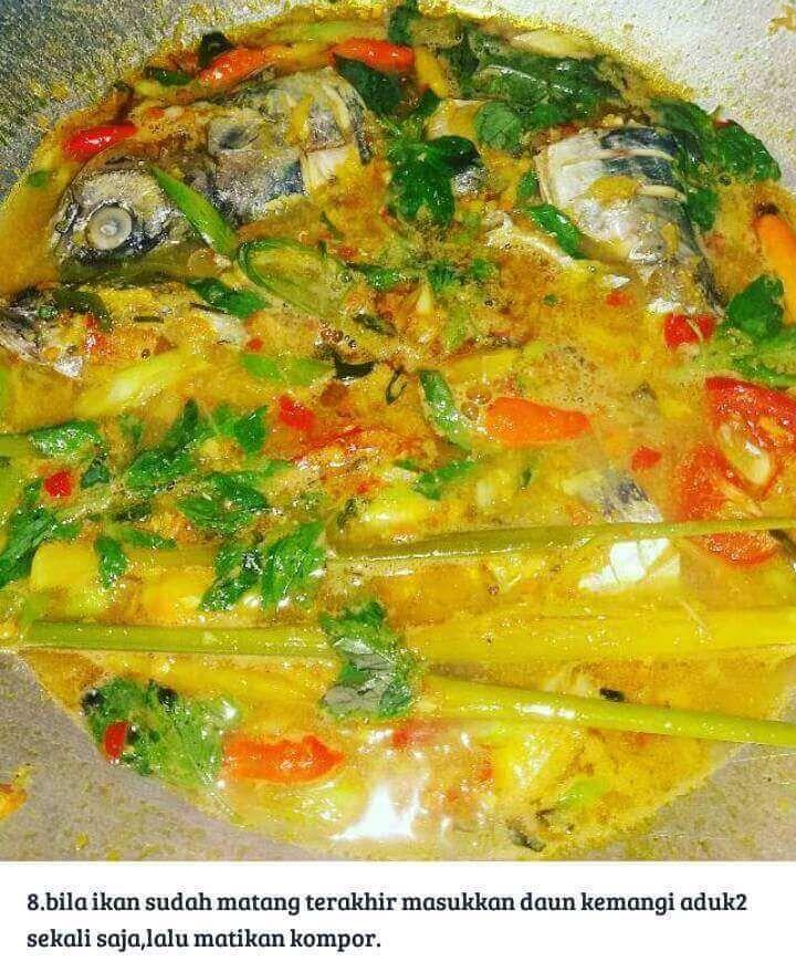 Resep Ikan Tongkol Masak Woku Khas Manado Resepkoki Co Resep Ikan Resep Masakan Masakan